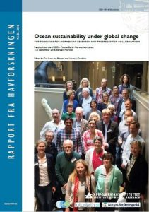 Ocean sustainabilit under glabal change front